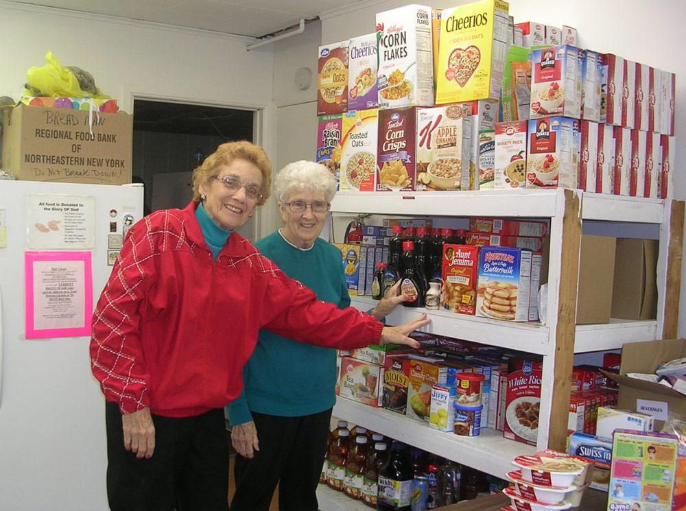 Volunteer And Community Photos Saugerties Food Pantry